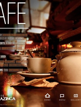 thiet ke web Website Coffee 05